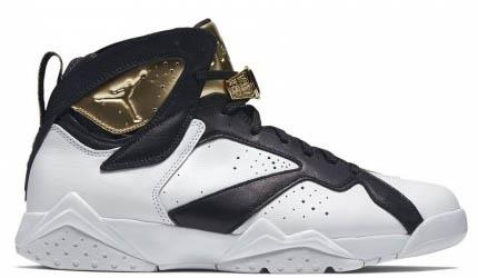 Air Jordan 7 Retro C&C Gold-Black